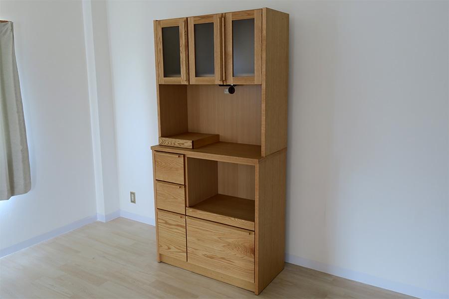 アンリ90オープンキッチン食器棚